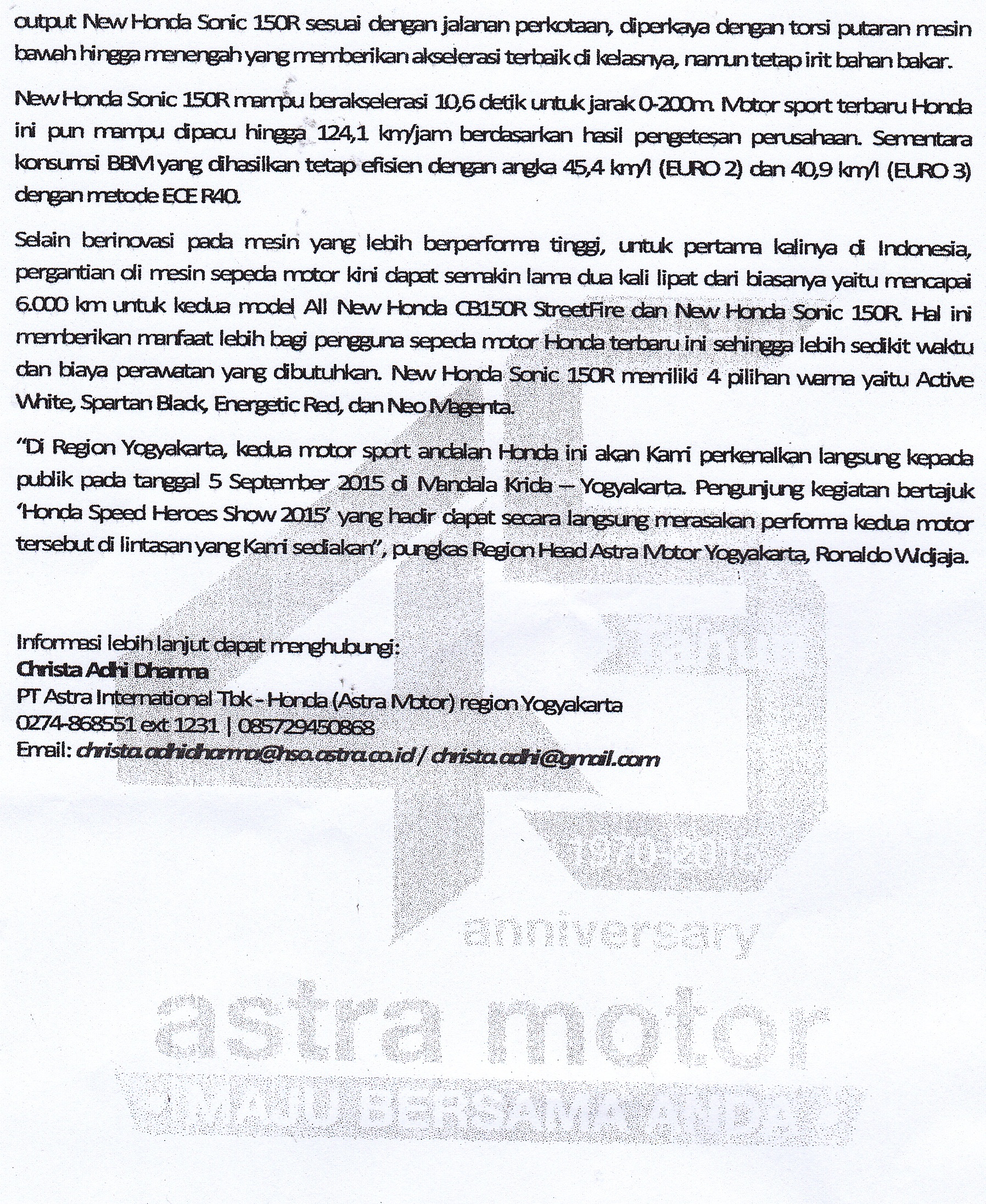 Sepeda Motor Page 113 New Vario 110 Esp Cbs Iss Grande White Yogyakarta Pr3ok