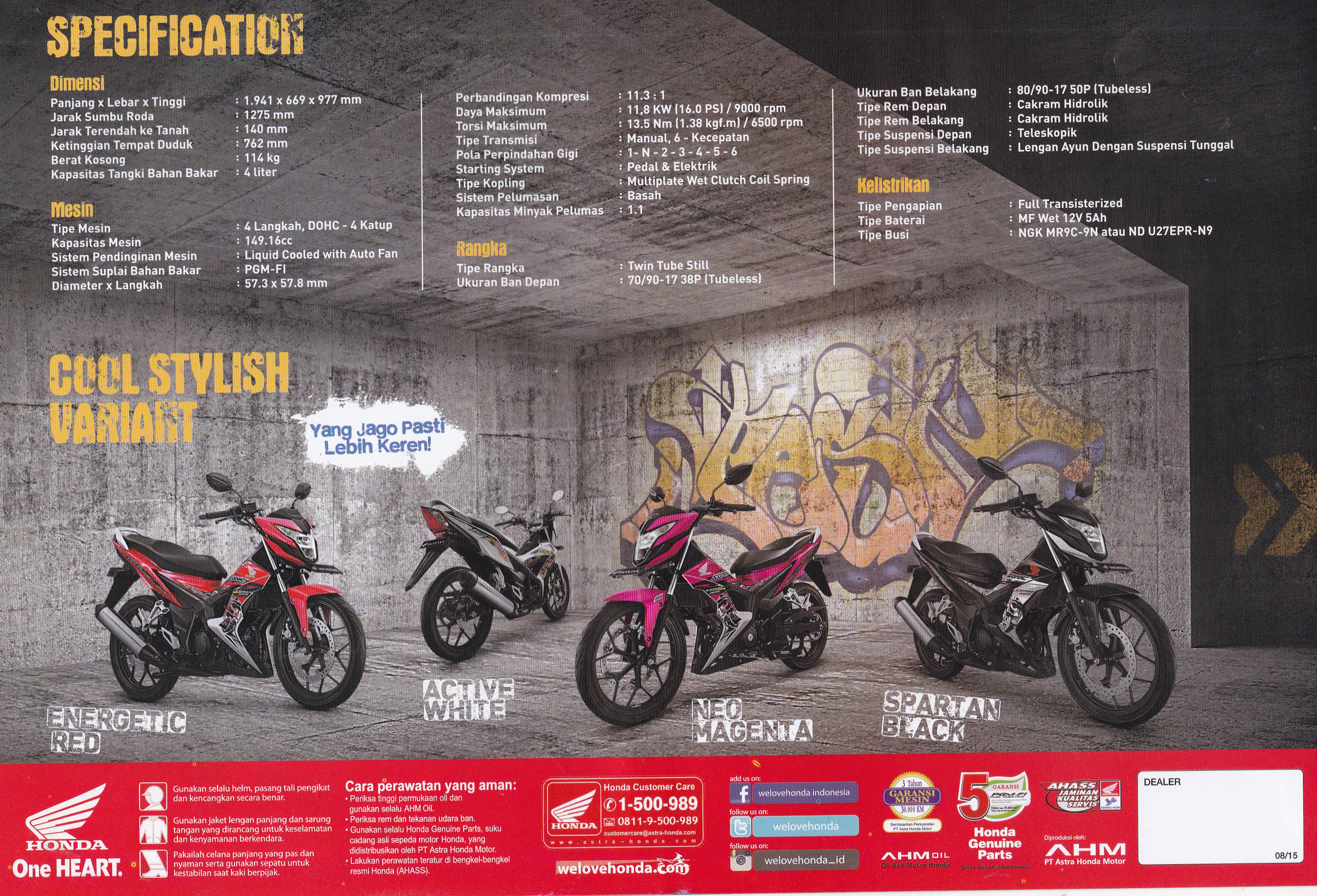 Sepeda Motor Page 113 New Vario 110 Esp Cbs Estilo Black Kendal Sonic2