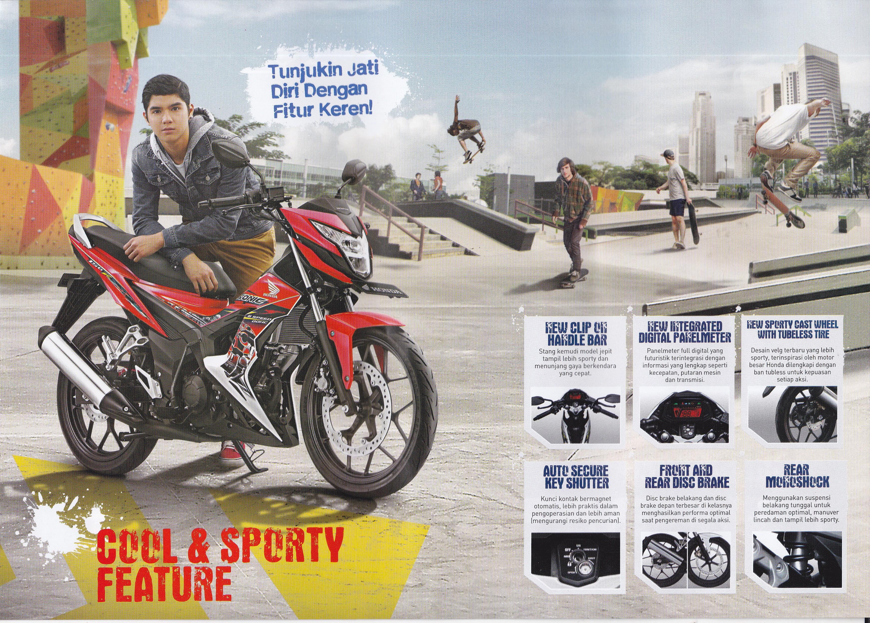 Sepeda Motor Page 113 New Vario 110 Esp Cbs Estilo Black Kendal Sonic6
