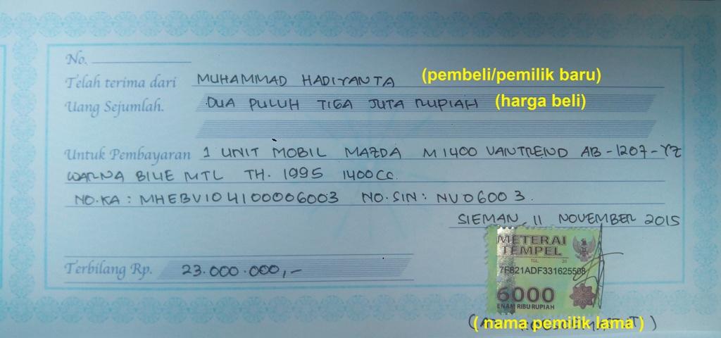 Tata Cara Balik Nama Bpkb Dan Stkn Sleman Ke Sleman